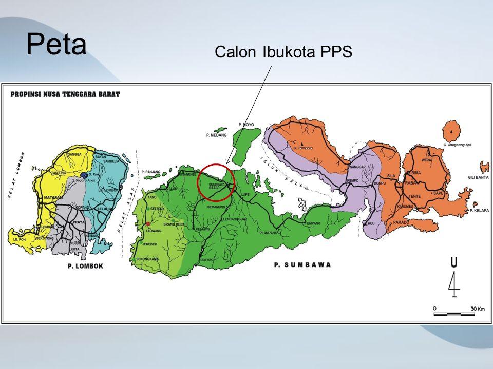 Peta Calon Ibukota PPS