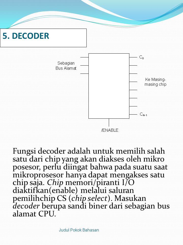5. DECODER