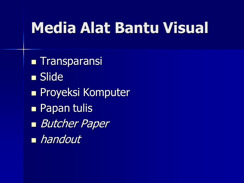 Media Alat Bantu Visual