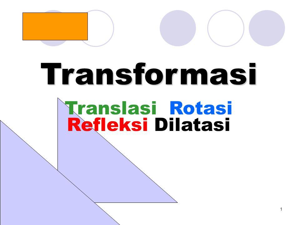 Translasi Rotasi Refleksi Dilatasi