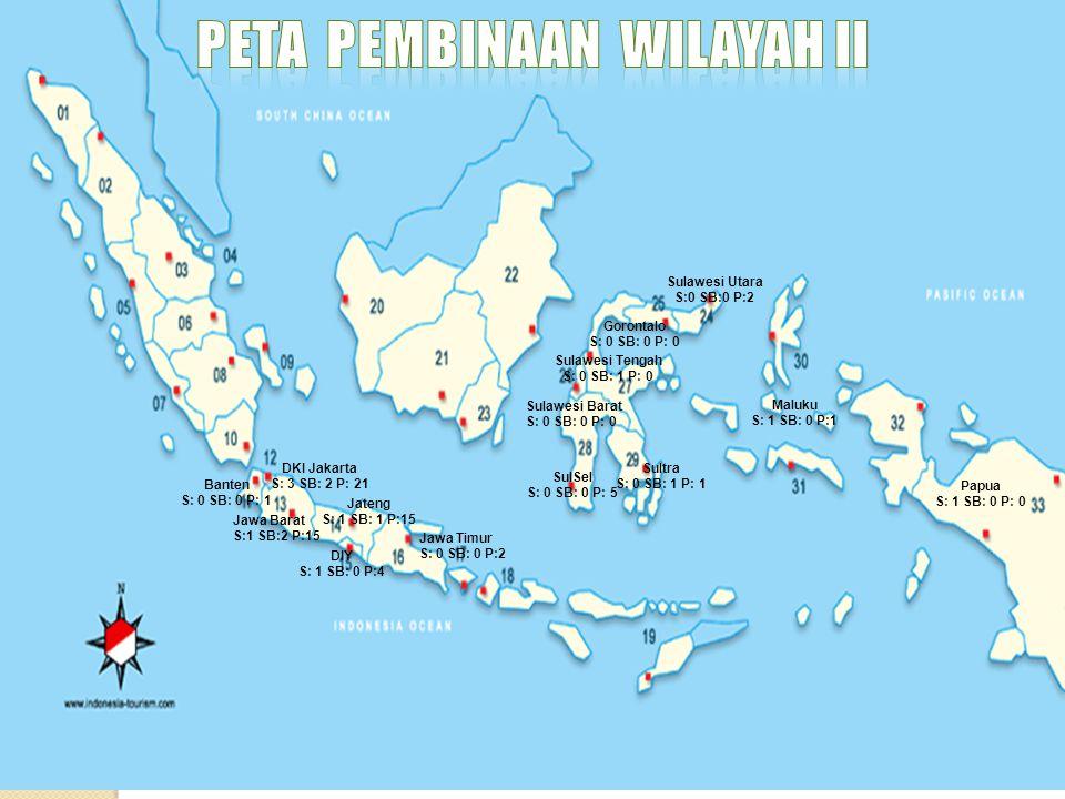 Peta pembinaan wilayah ii
