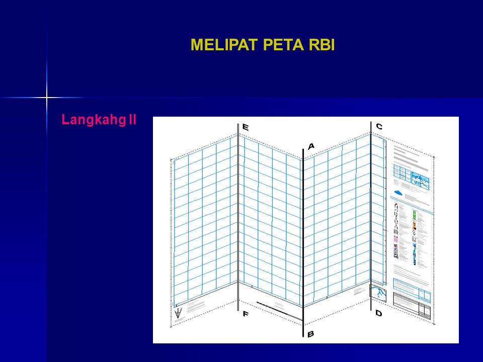 MELIPAT PETA RBI Langkahg II