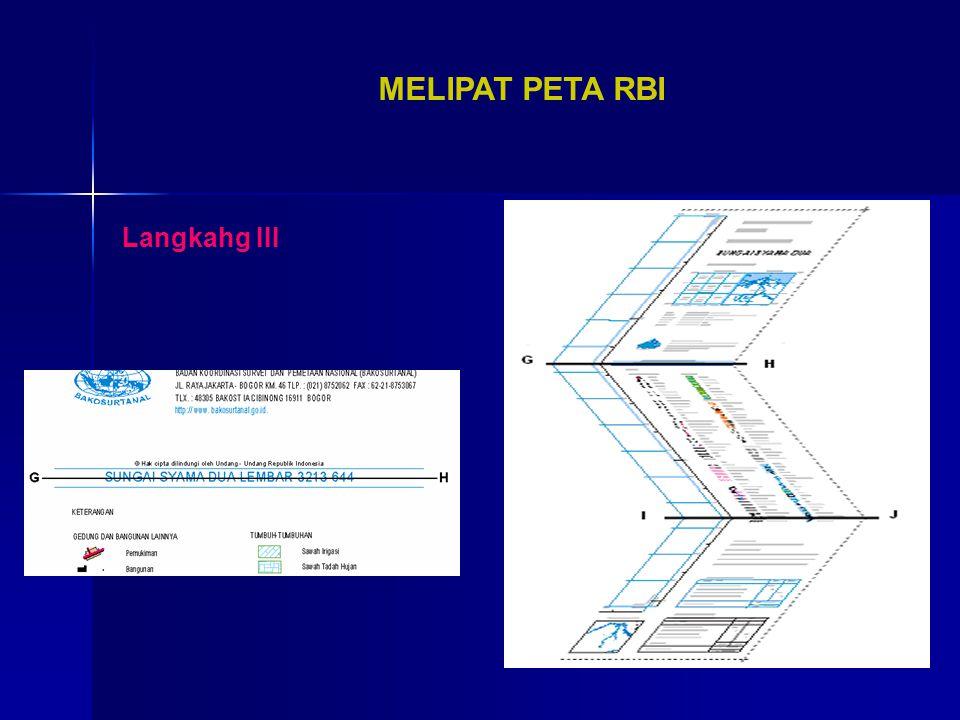 MELIPAT PETA RBI Langkahg III