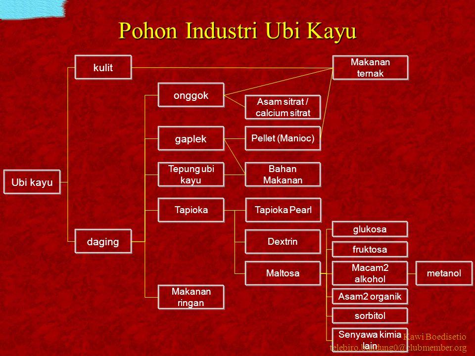 Pohon Industri Ubi Kayu