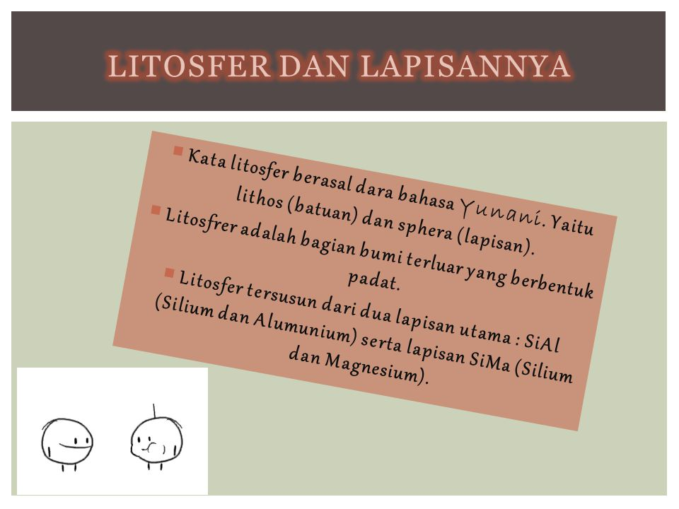 Litosfer dan lapisannya