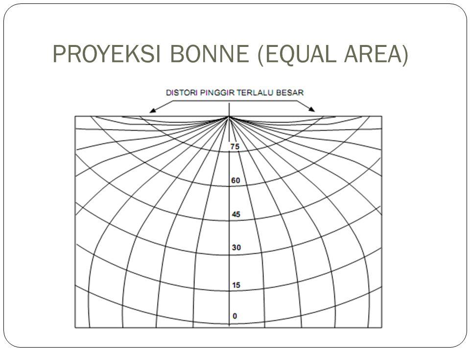 PROYEKSI BONNE (EQUAL AREA)