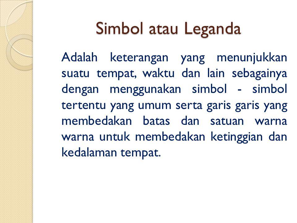 Simbol atau Leganda