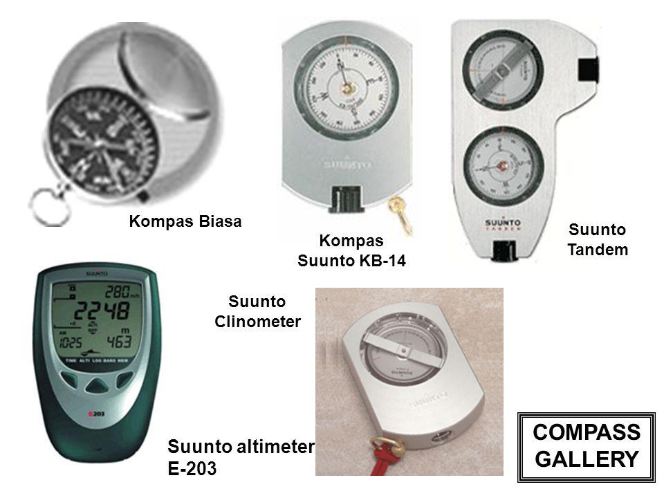 COMPASS GALLERY Suunto altimeter E-203 Kompas Biasa Suunto Tandem