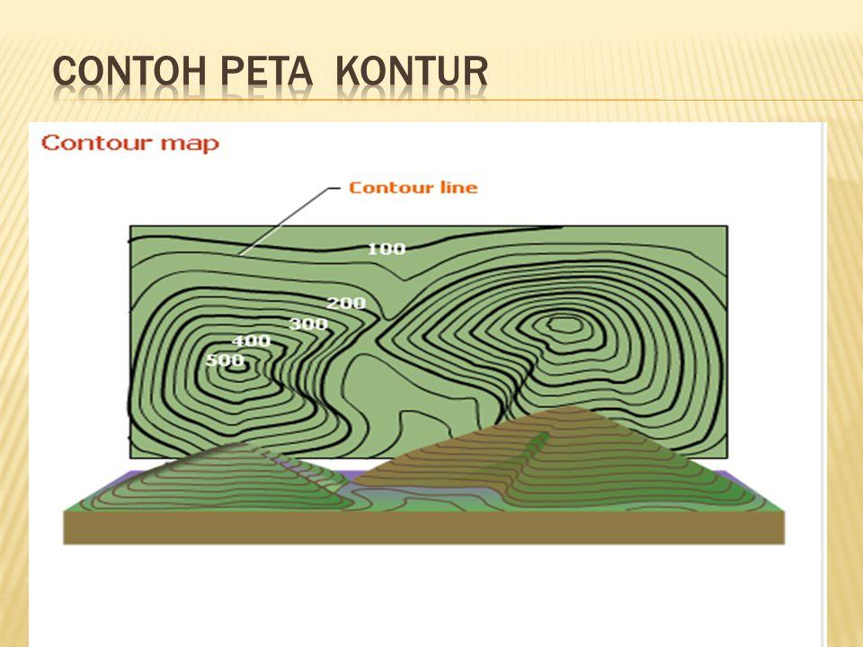 Contoh Peta Kontur