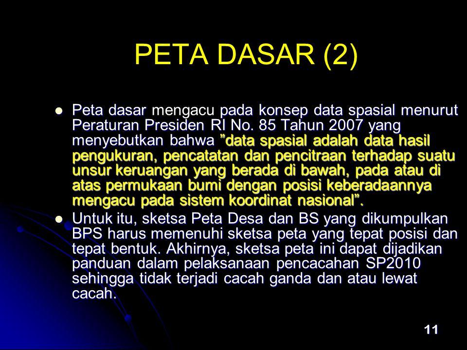 PETA DASAR (2)