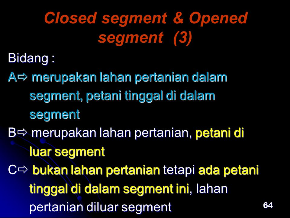 Closed segment & Opened segment (3)