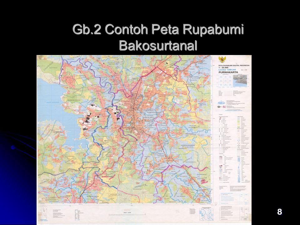 Gb.2 Contoh Peta Rupabumi Bakosurtanal