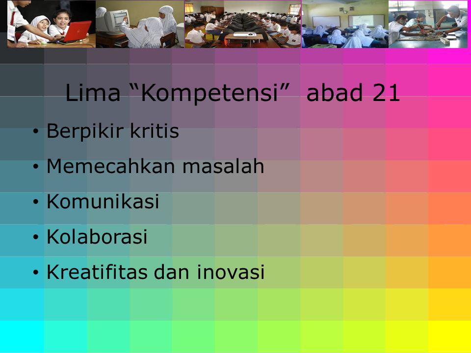 Lima Kompetensi abad 21