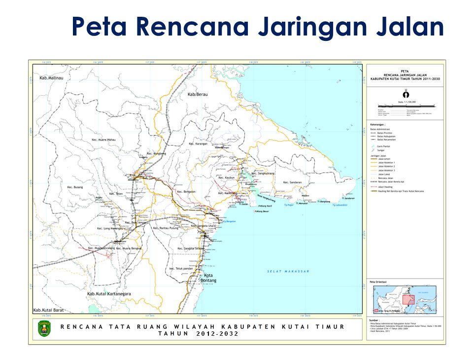 Peta Rencana Jaringan Jalan