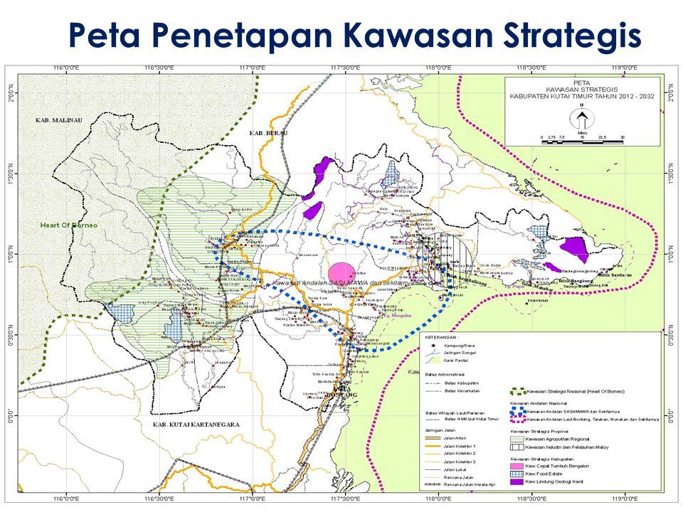 Peta Penetapan Kawasan Strategis