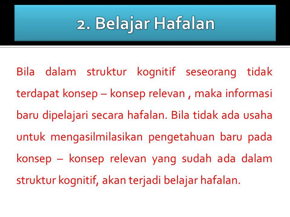 2. Belajar Hafalan