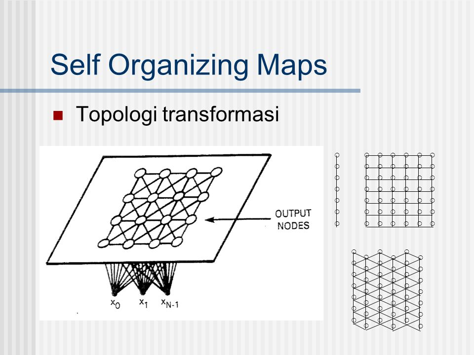 Self Organizing Maps Topologi transformasi  