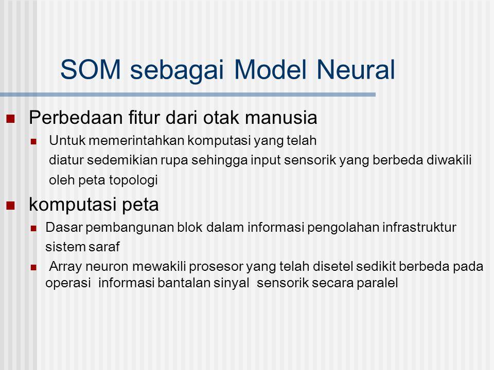 SOM sebagai Model Neural