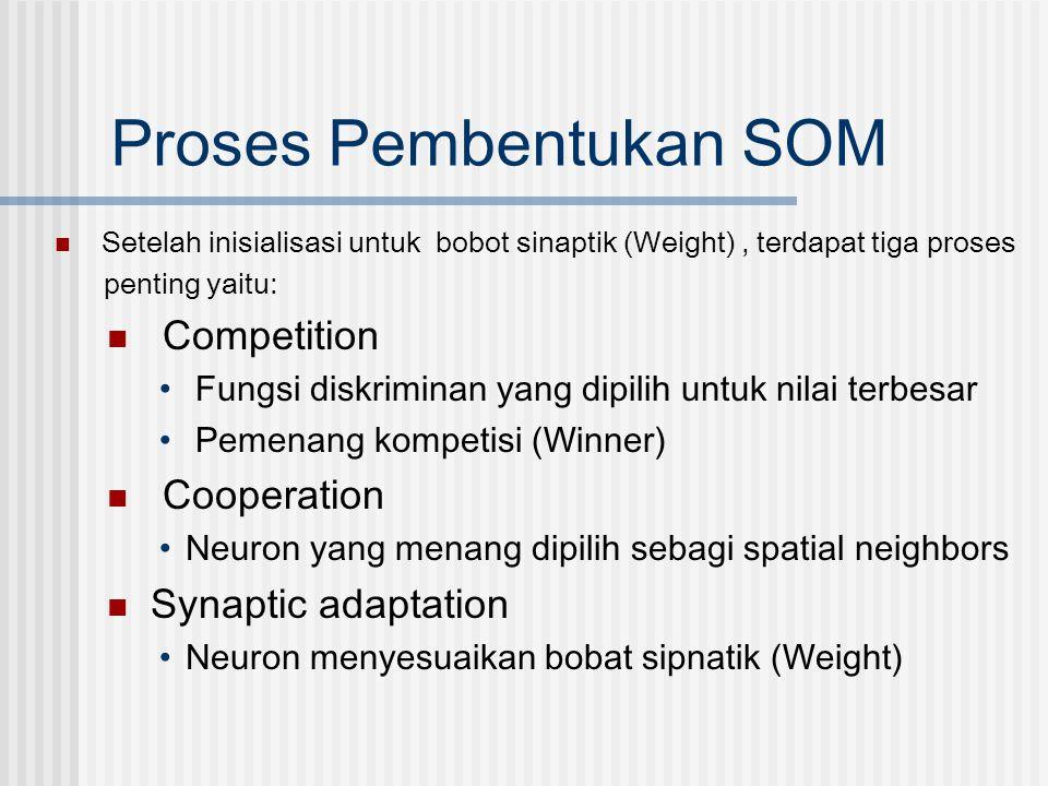Proses Pembentukan SOM
