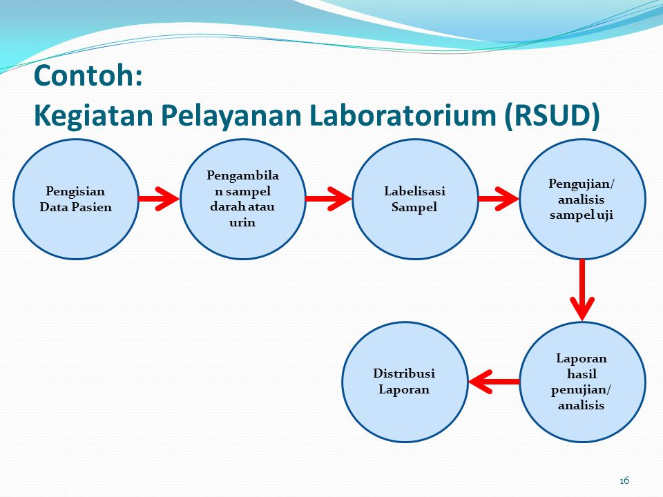 Contoh: Kegiatan Pelayanan Laboratorium (RSUD)