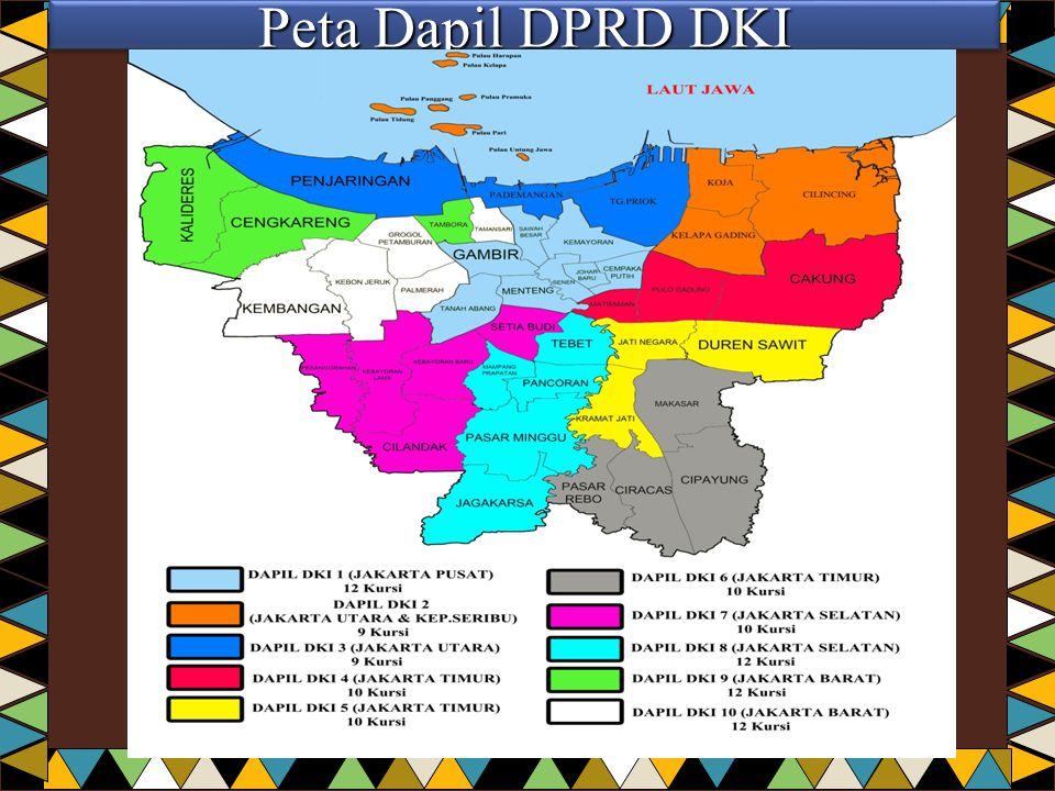 Peta Dapil DPRD DKI