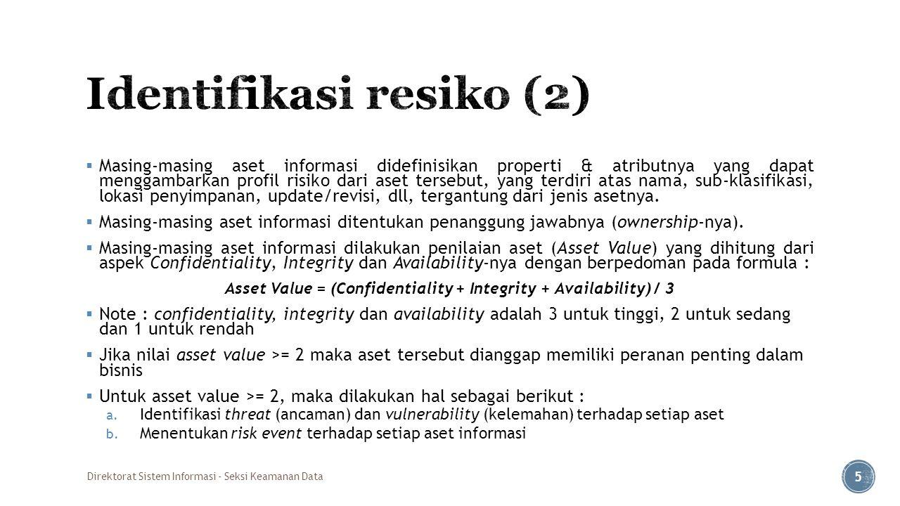 Identifikasi resiko (2)