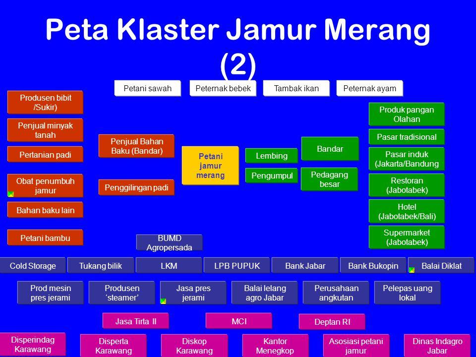Peta Klaster Jamur Merang (2)