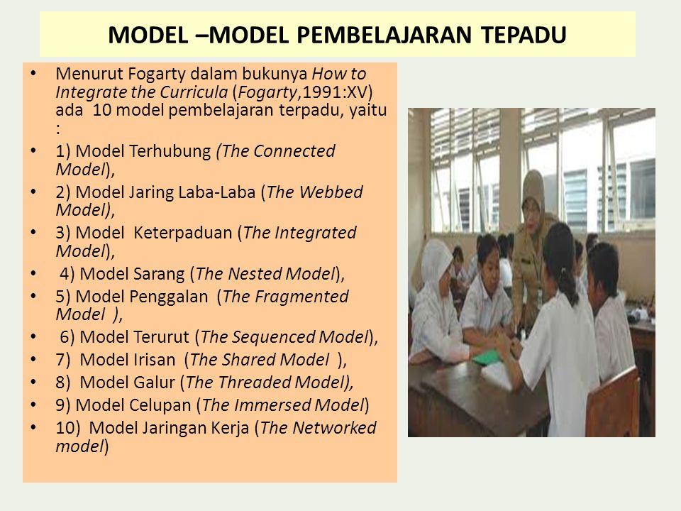 MODEL –MODEL PEMBELAJARAN TEPADU