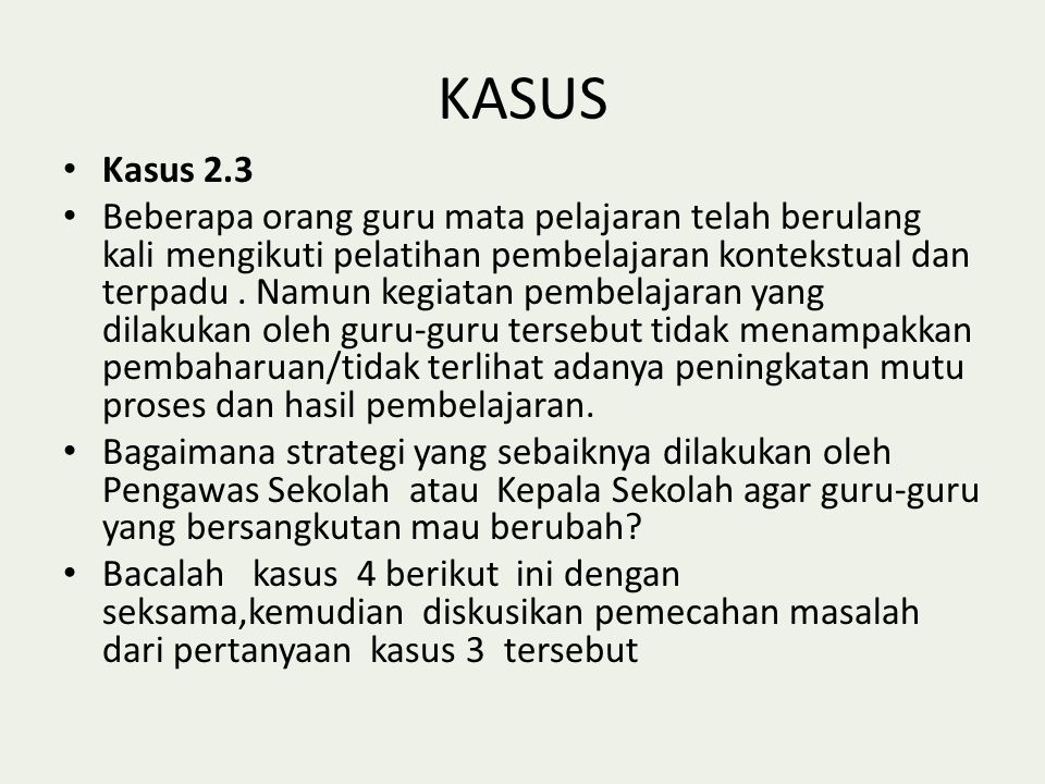 KASUS Kasus 2.3.