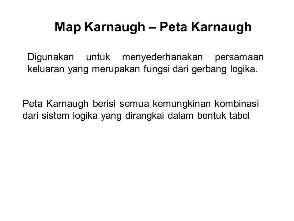 Map Karnaugh – Peta Karnaugh
