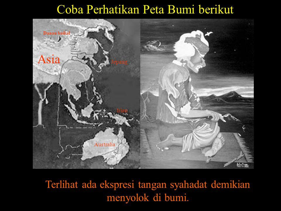 Coba Perhatikan Peta Bumi berikut
