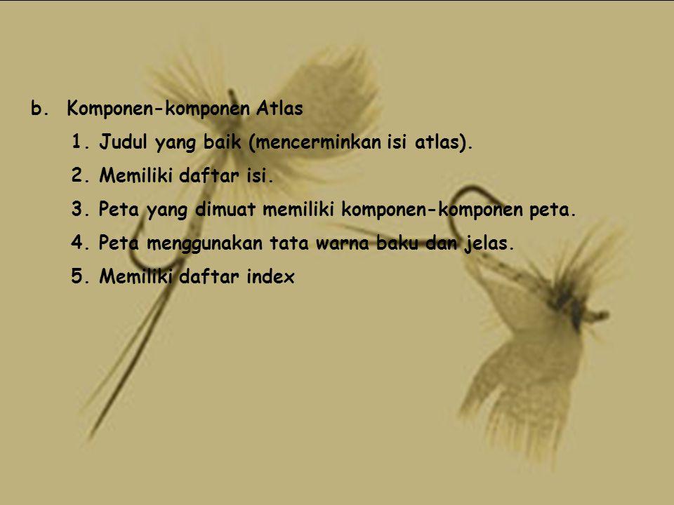 b. Komponen-komponen Atlas