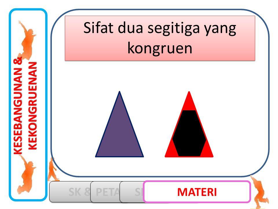 Sifat dua segitiga yang kongruen