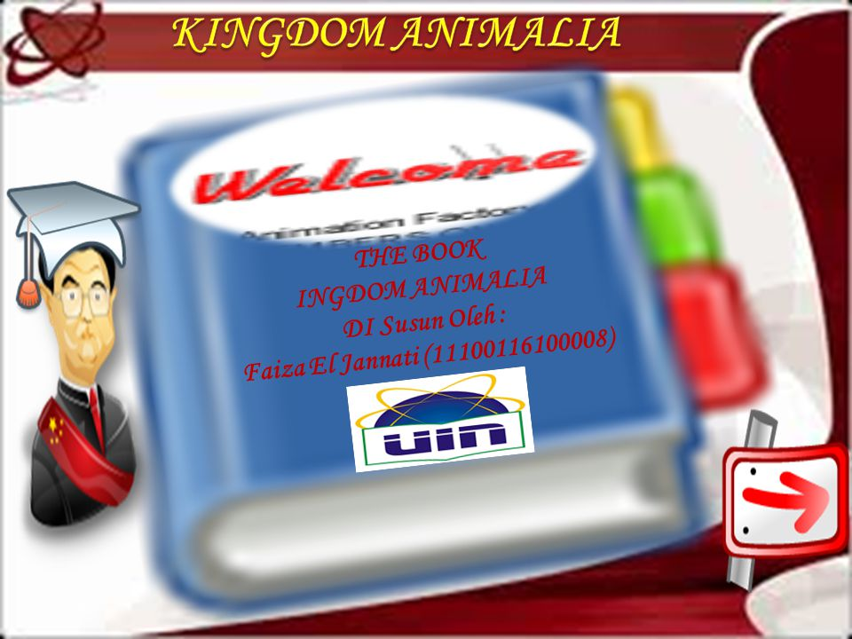 KINGDOM ANIMALIA THE BOOK INGDOM ANIMALIA DI Susun Oleh :