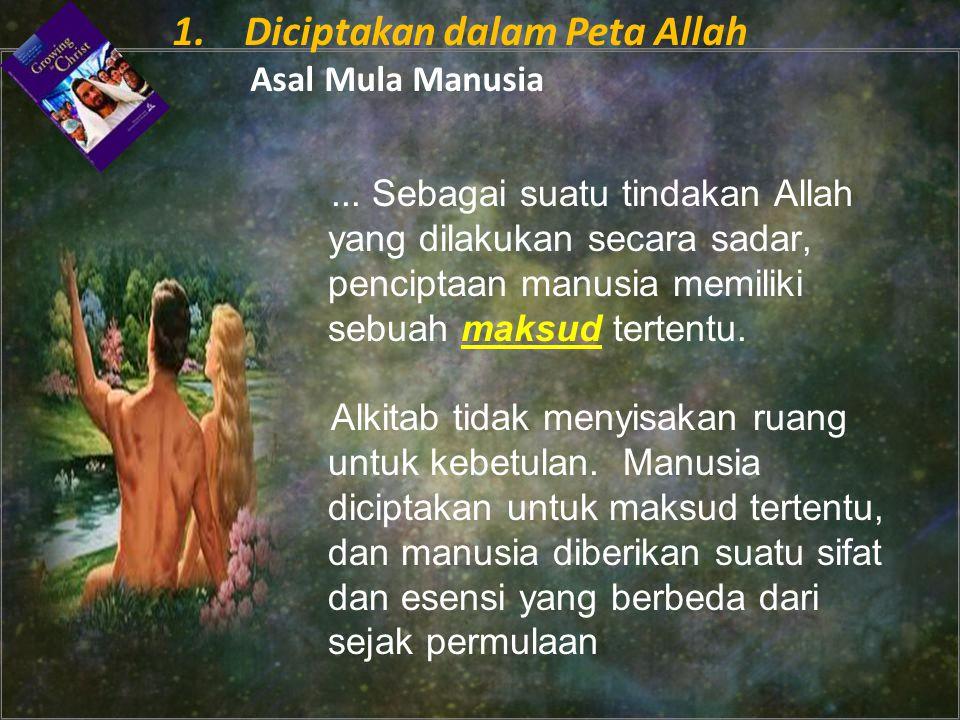 1. Diciptakan dalam Peta Allah Asal Mula Manusia