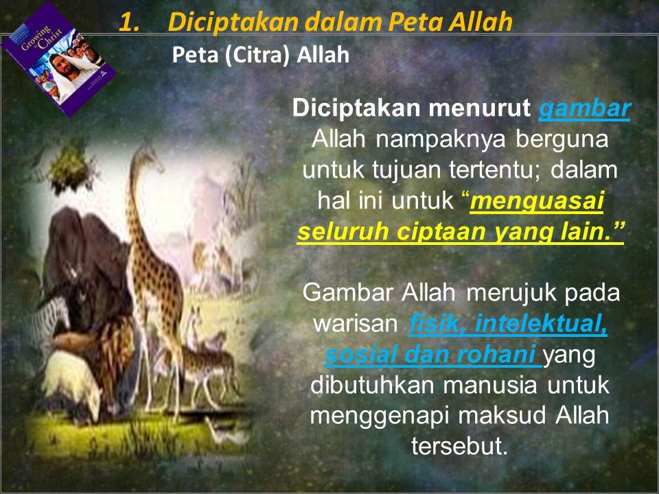1. Diciptakan dalam Peta Allah Peta (Citra) Allah