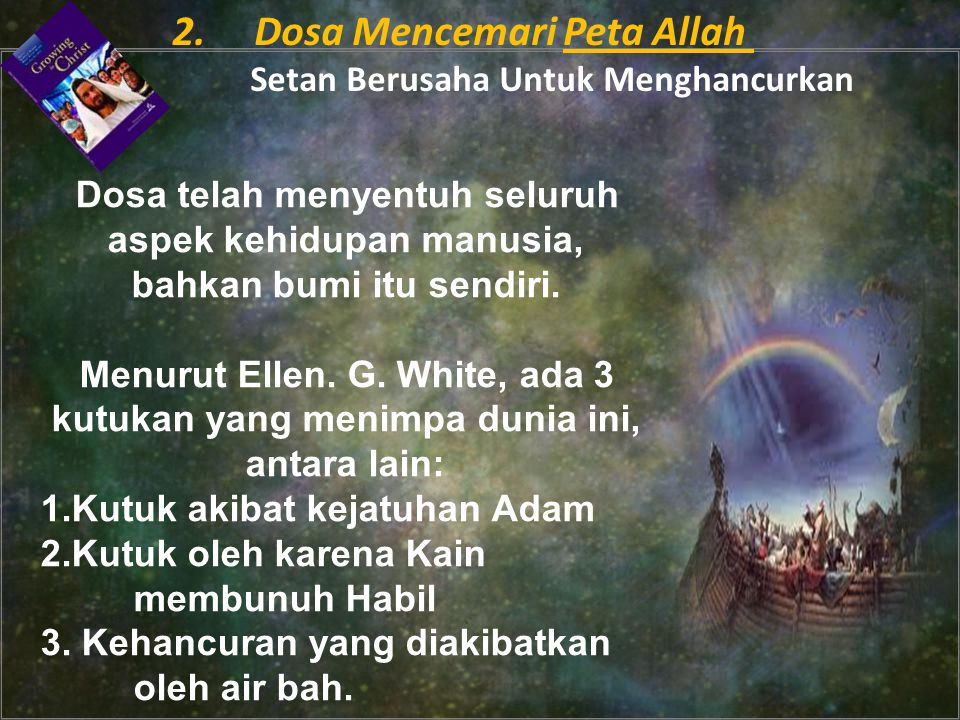 2. Dosa Mencemari Peta Allah Setan Berusaha Untuk Menghancurkan