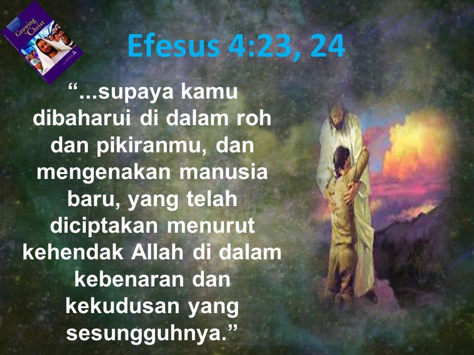 Efesus 4:23, 24