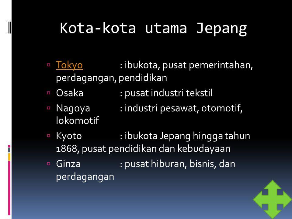 Kota-kota utama Jepang