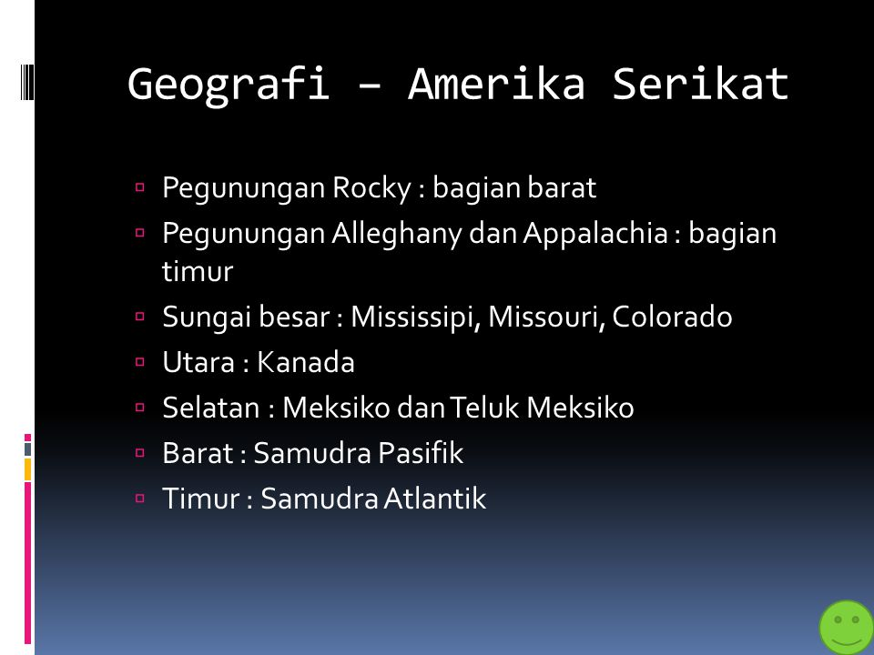 Geografi – Amerika Serikat