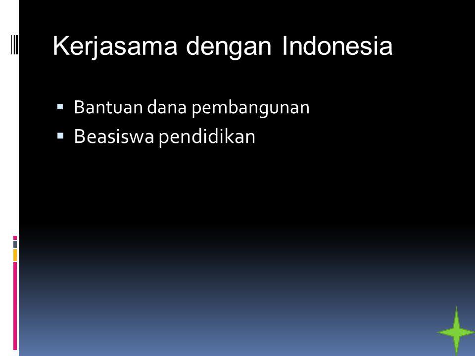 Kerjasama dengan Indonesia