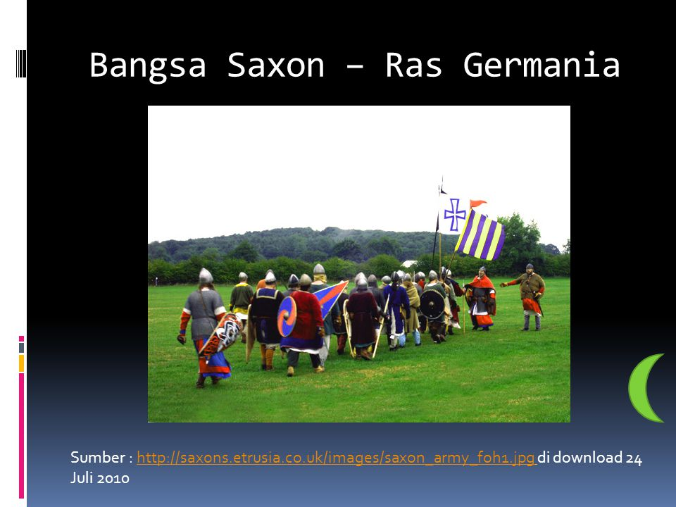 Bangsa Saxon – Ras Germania