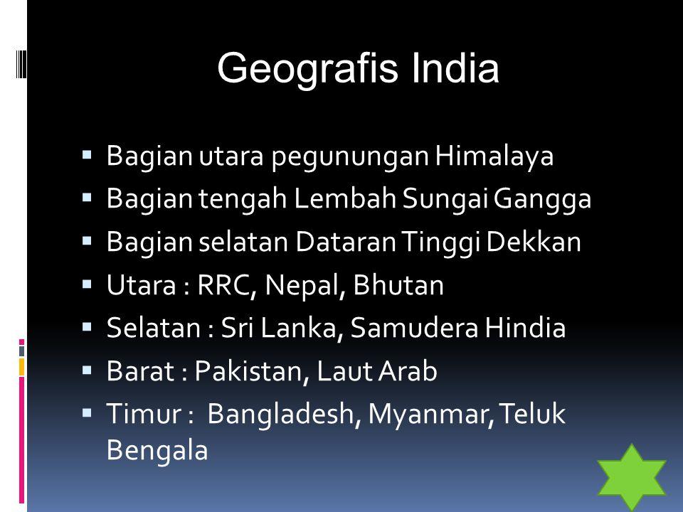 Geografis India Bagian utara pegunungan Himalaya