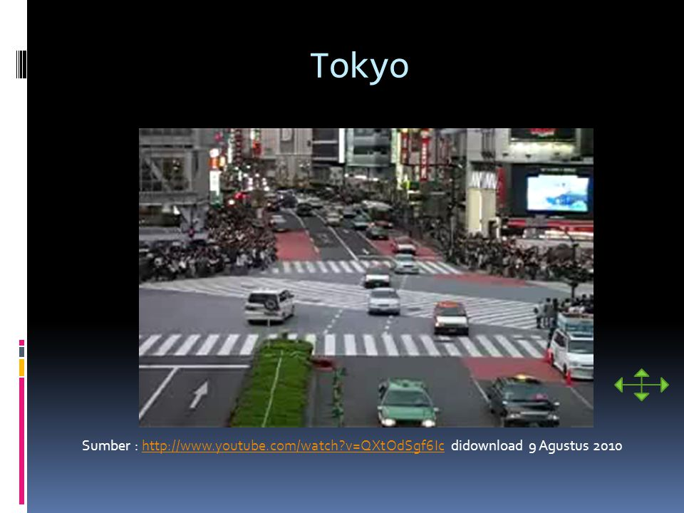 Tokyo Sumber : http://www.youtube.com/watch v=QXtOdSgf6Ic didownload 9 Agustus 2010