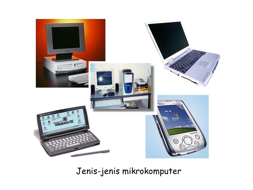 Jenis-jenis mikrokomputer