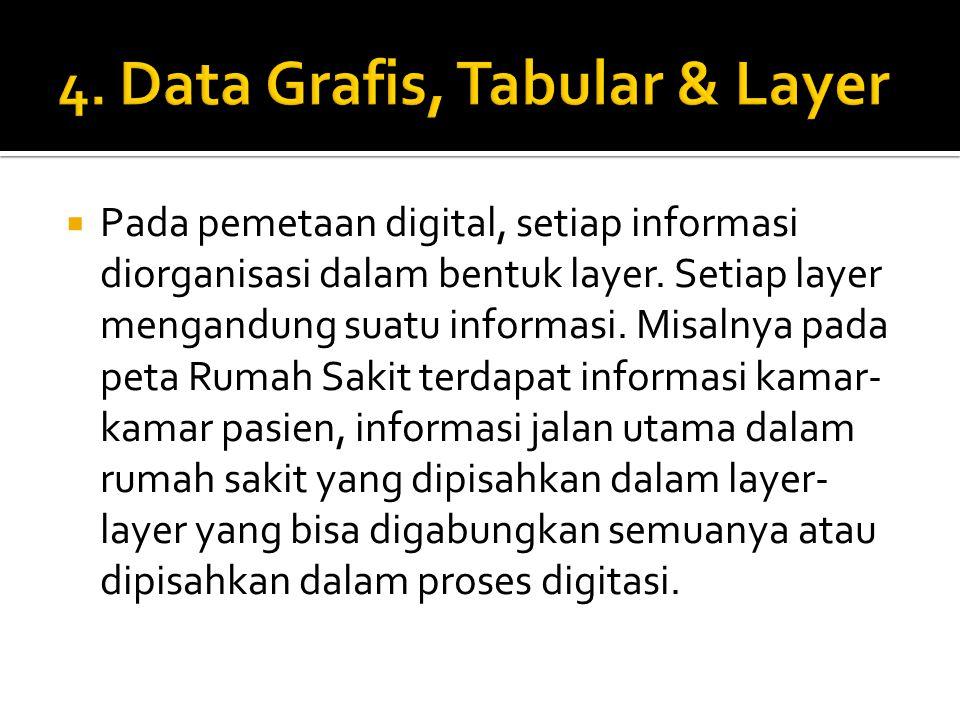 4. Data Grafis, Tabular & Layer
