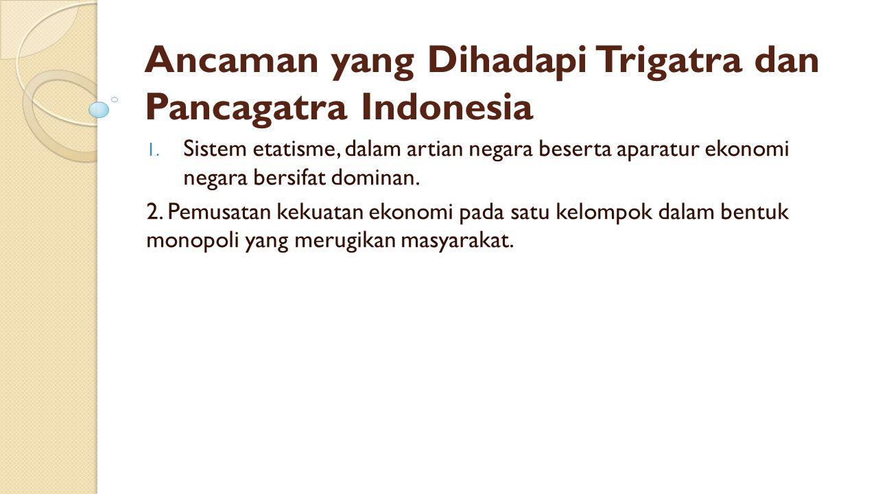 Ancaman yang Dihadapi Trigatra dan Pancagatra Indonesia