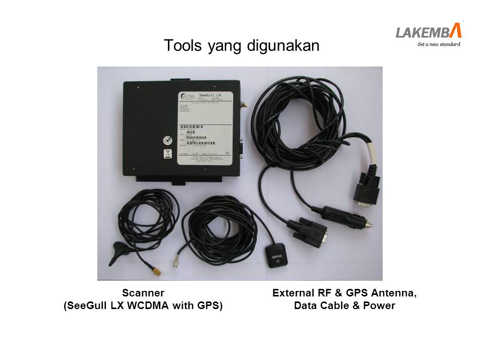 (SeeGull LX WCDMA with GPS) External RF & GPS Antenna,