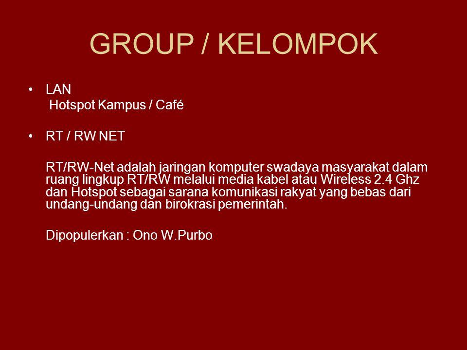PENERAPAN JARINGAN NIRKABEL DI INDONESIA - Kelompok VI