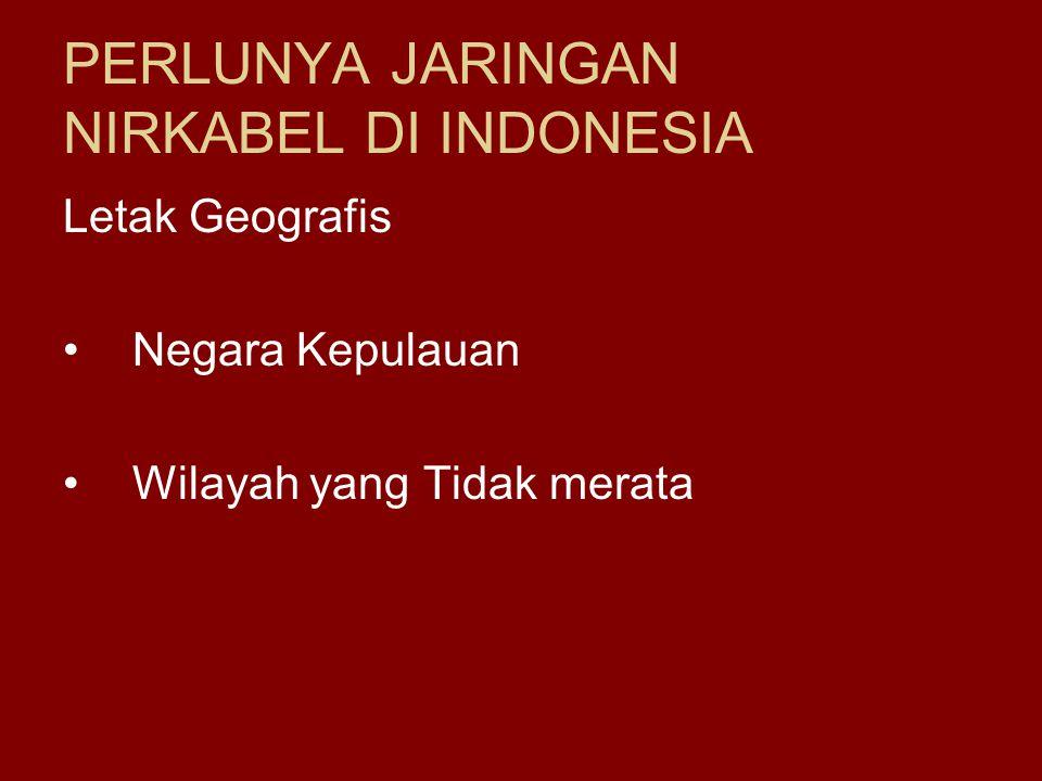 PERLUNYA JARINGAN NIRKABEL DI INDONESIA